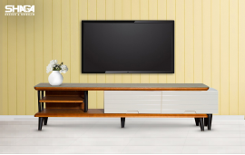 Tavoline Televizori Wood